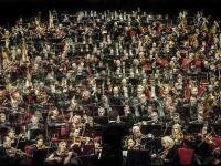 """Orkestro muzikantų, solistų ir dirigentų portretai fotografijų parodoje """"Patetico e delicato"""""""