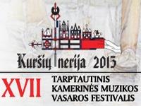 """Kamerinės muzikos festivalis """"Kuršių nerija 2015"""""""