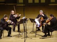 Čiurlionio kvartetas UNESCO būstinėje garsina Oginskį