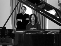 Piano music concert Dances for Two Pianos