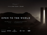 Open to the World 2020: Zero8 and Bel Canto Choir Vilnius. Together