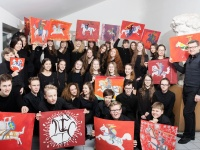 To mark the 70th anniversary of the Choir of the National M. K. Čiurlionis School of Art
